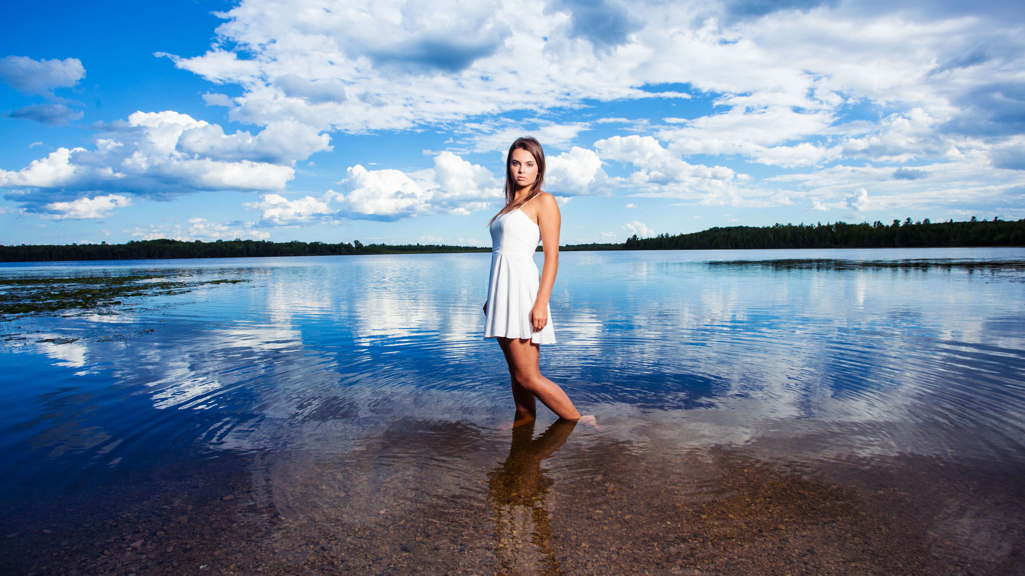 Green Bay senior pictures water