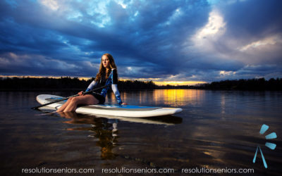 Kersten – Paddleboarding Model Shoot!