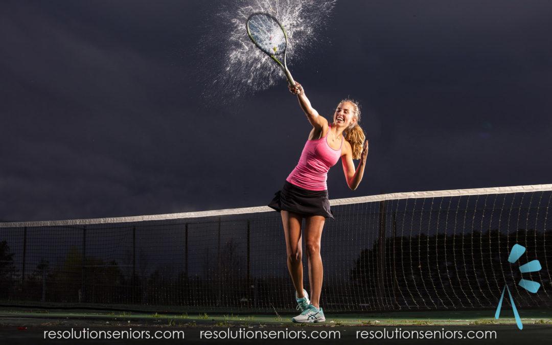Erika – Water Tennis Model Shoot!