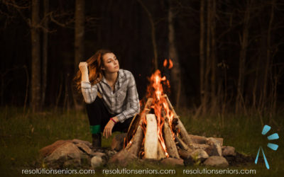 Kendall – Campfire Model Shoot!