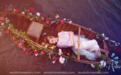 Josie – Floral Boat Model Shoot!