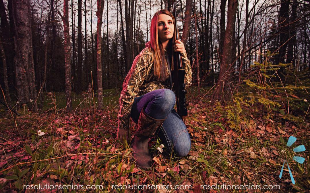 Sarah – Hunting Model Shoot!