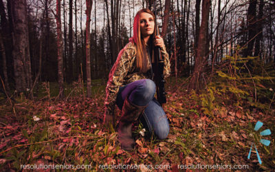 Sarah – Hunting Model Shoot!
