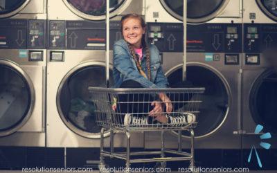 Casey – Laundry Mat Model Shoot!