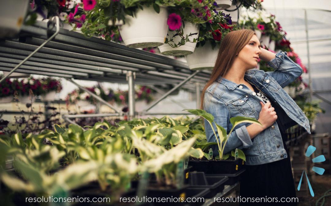 Alexandrea – Greenhouse Model Shoot!
