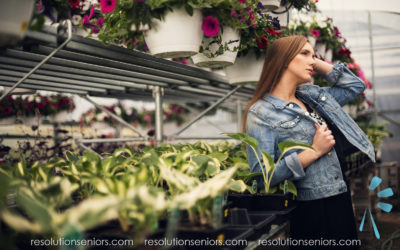 Alexandrea – Greenhouse Model Shoot!
